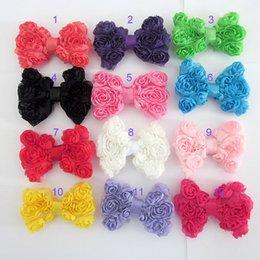 Wholesale AJ H004 girl Headbands Chiffon Butterfly knot Headband Baby Girls Hair Memorial Acce