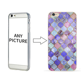 50 pcs Wholesale Marble Pattern Case Customized Personal case for iPhone 8 Painted DIY Colored SOFT TPU Case Cover For iPhone 7