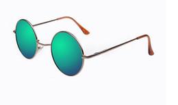 Promotion!Classic retro styling Sunglasses High quality sports cycling circular Sunglasses Women men Fashion colour mirror Coating Glasses