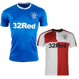Wholesale The latest sports Rangers Football Club jerseys Home Away Sporting FC Football Scotland shirts Free Delivery
