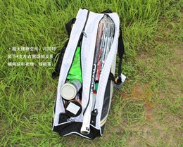2016 Genuine Multifunction 3-4 pieces tennis racket Polyester Tennis racket bag 9 pieces badminton racket bag Independent shoe warehouse