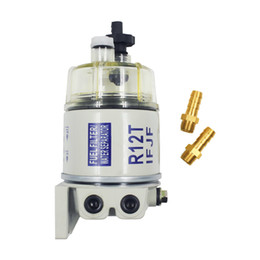 High Performance R12T new stype with 100% copper screw For Marine Spin-on Fuel Filter Fuel water Separator 120AT 57 LPH