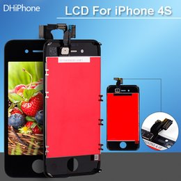 Wholesale For iPhone G LCD Display Touch Screen digitizer Frame Replacement Assembly White Color send by post