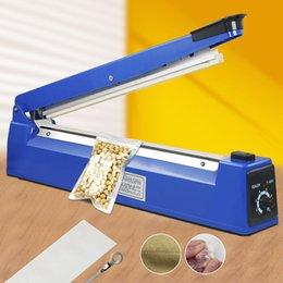 Wholesale 16 quot mm Manual Heat Sealer PE PP BAG Machine Shrink Wrap Free Element Impulse