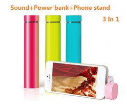 Wholesale 2016 New Arrival in Multi function Promotional Gifts Hot Selling Power Bank mAh with Speaker Function