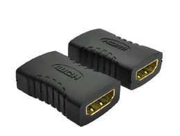 Wholesale V1 HDMI EXTENDER FEMALE TO FEMALE COUPLER ADAPTER JOINER Converter CONNECTOR Adapter P