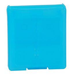 Ds lite dsi en Línea-2pcs / lot nuevo plástico 16 en 1 Juego caso cuadro titular de tarjeta para Nintendo DS Lite DSI DSL