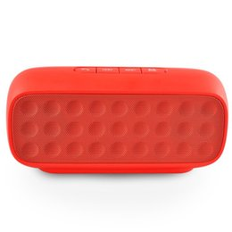 2016 New Portable D01 Bluetooth Speaker Stereo Wireless Speakers Mini HiFi Support TF Card for Cellphone