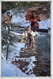 Wholesale Original US High tech HD Print Oil Painting Art On Canvas John Buxton A Fearful Noise x24inch Unframed