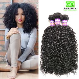 Wholesale 8A Brazilian Kinky Curly Hair Bundles Mink Brazilian Afro Kinky Curly Human Hair Extensions Brazilian Curly Virgin Hair WEAVES Ms Lula Hair