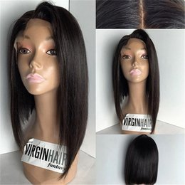 Hot Long Silky Straight Lace Front Human Hair Wigs Malaysian Hair Full Lace Human Hair Wigs Baby Hair