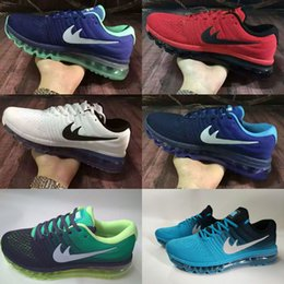 Wholesale 2017 New Max Runner comfort walking on air cushion increasing Running Shoes Women Men Max Shoes