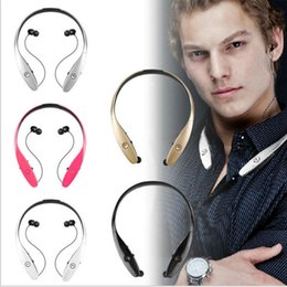 2016 Newest HBS900 Wireless Bluetooth 4.0 Sport Stereo Headset headphone With MIC Neckband Style for iPhone Samsung LG HTC