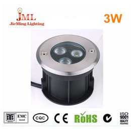 2016 new product 3W Led underground light cold white color IP67 outdoor lighting 85-265V landscape ROHS