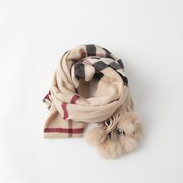 Wholesale Hug Me Baby Girls scarf Scarves Wraps New Autumn Winter Korean Fashion Flowers Scarves Wraps Accessories AA