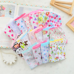 Wholesale High Quality pack Fashion New Baby Girls Underwear Cotton Panties Children Underpants Cute Design For Girls Kids Short Briefs