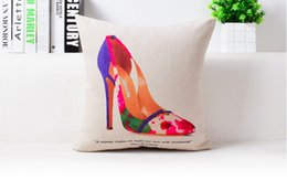 Rose Flower Red Vase Art Painting Decorative Pillow Case Cover Euro Pillows Travel Emoji Home Decor Vintage Gift