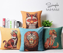 Beauty Mask For The Squirrels Animal Child Fun Decorative Pillow Case Cover Euro Pillows Travel Emoji Home Decor Vintage Gift