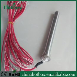 Industrial 230V 110V 12V 24V Cartridge Heater For Plastic Mold with thermocouple