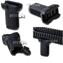 Wholesale AIRSOFT FMA WEAVER MM SHORT BLACK TB1069 FMA Bravo Fore Grip For mm Rail