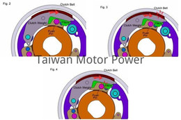 Wholesale Taiwan Dr Pulley HiT Clutch fit Aprilia SRV fit Gilera GP HIGH PERFORMANCE CVT modification Dr Pulley motorcycle parts