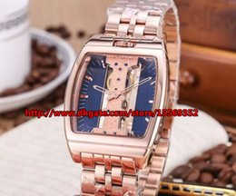 Precise fashion luxury business classic imported manual chain mechanical waterproof back through steel rectangular men's Watch