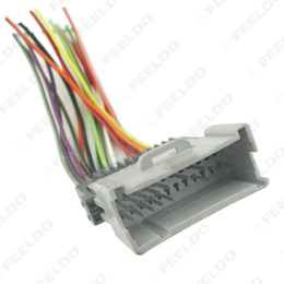 Wholesale 200pcs Car Radio CD Player Wiring Harness Audio Stereo Wire Adapter for Toyota Hyundai Kia Oldsmobile Install Aftermarket CD DVD Stereo
