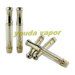 Wholesale glass oil vaporizer CO2 extract hemp oil vaporizer pen cartridges empty cbd thick oil disposable vaporizer