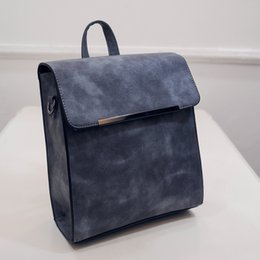 Spring and summer new fashion square pure female bag leisure joker color single shoulder to shoulder with a backpack