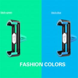 Acheter en ligne Vent mount gps-GKZ K6 Air Frame Plus Support de téléphone universel pour voiture Ventilation Support de ventilation pour iPhone 6 Plus 5 Support pour téléphone Samsung Support