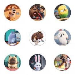 Wholesale shipkinsd Finding dory zootopia secret life of pets Cartoon Buttons brooch Pins Badges Brooch Badges CM party favor gift bags decoration