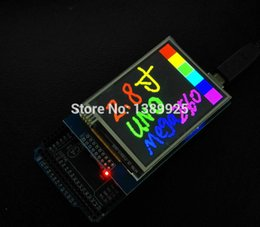 Wholesale-Free Shipping 2.8 inch TFT Touch LCD Screen Display Module for arduino UNO R3 HIGH QUALITY