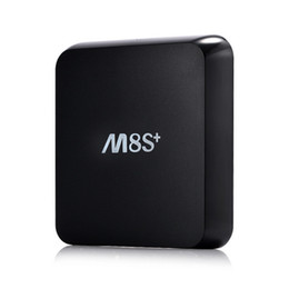 Wholesale M8s Plus IPTV Set Top Box S812 Android TV Boxes Quad Core Media Player support K Dual Wifi G Kodi Internet Television Box