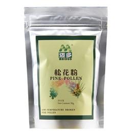Wholesale Maiduo Cracked Raw Pine Tree Flower Pollen Powder Anti Age Wild Harvested Herbal Supplements Gram g bagx