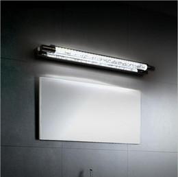 Dans la lumière conduit 6w à vendre-Miroir de salle de bain en acier inoxydable 6W LED moderne