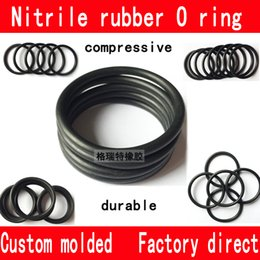 Wholesale Nitrile rubber silica gel fluorine rubber O ring all kinds of sizes custom molded factory direct high quality compressive