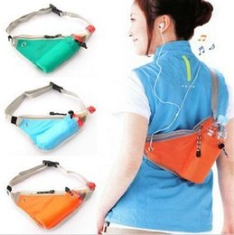 Men's and women's outdoor bag sports triangle pockets kettle travel convenient close-fitting pocket multi-function receive package wholesale