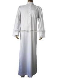 large in stock islamic clothing 2016 hot style 1pcs lot abaya arab robe man China online wholesale