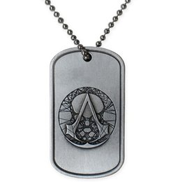 Wholesale Ubisoft Official ASSASSIN S CREED THE RECON MILITARY NECKLACE Pendant Assassin Creed Unity Dog Tag For Men Women Assassins Creed