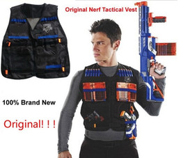 Wholesale Nerf Tactical Vest Jacket Waistcoat Magazine Ammo Holder for N Strike Elite Pistol Foam Bullets Toy Guns Clip Nerf Darts Kit Sum