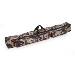 Wholesale Large Capacity M Fishing Bag Double Layer Fishing Rod Tackle Bag Camouflage H10622