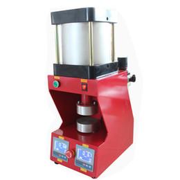 13000psi dual heat plates 10cm diameter New format pneumatic rosin heat press transfer printing machine rosin press
