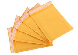 Acolchada electrónico en Línea-Las ventas calientes Kraft burbujea los anuncios publicitarios sobres acolchados bolsos de burbuja sobre de envío 30pcs bolso Envío libre / lot