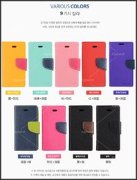 Mercury Portefeuille en cuir PU TPU Soft Case Hybrid Cover Folio Flip pour iPhone 5s 5c SE 6 Plus Samsung Galaxy S7 bord S4 S6 5 Bord E7 Note 5 4 à partir de mercure cas s4 fournisseurs