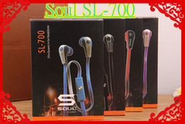 Wholesale Newest SL Best Rated Soul Mini SL700 Earphone By Ludacris Dynamic In Ear Headphones With mic For iPhone Samsung S7 Headset DHL free
