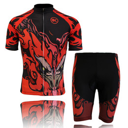 Cuissard vente à vendre-Les nouveaux costumes de vélo de bicyclette d'hommes de Jersey de vente chauds de vélo de vélo de cyclisme de Jersey de maillots de bain de chemises de dessus de kits de shorts M-XXL ont placé la flamme rouge