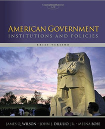 American Government Institutions and Policies, 978-1305109001