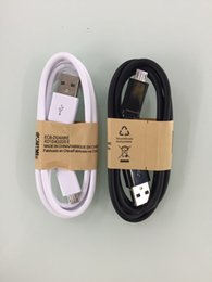 Wholesale 2016 Rushed Real Micro Usb for Samsung cm Adapt To Andrews System Black And White Multi function Data Cable