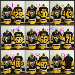 Pittsburgh Penguins #29 Marc Andre Fleury 2016 Ice Winter Jersey Cheap Hockey Jerseys Authentic Stitched Free Shipping Size 48-56