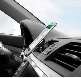 Vent mount gps à vendre-Universal 360 Rotation cellulaire Titulaire magnétique Téléphone Mobile Car Air Vent Mount Stand pour iPhone 6S plus Samsung S6 Sony GPS Tablet